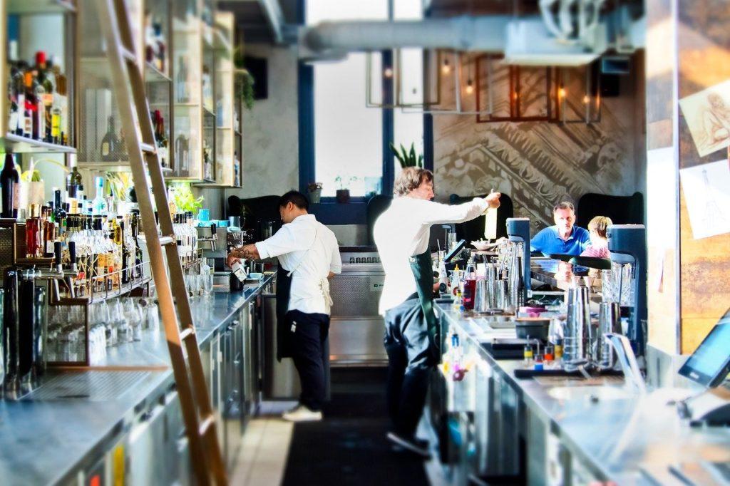 bar, counter, gastronomy